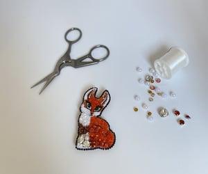 beads, fox, and likeme image