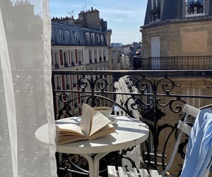 book, balconyview, and places image