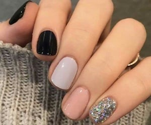 manicure, nailart, and color nails image