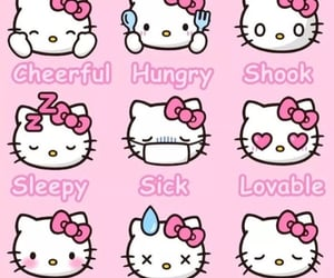 pink, sanrio, and hello kitty image