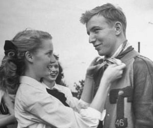 vintage, love, and couple image