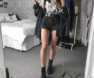 alternative, boots, and fashion image