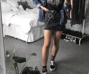 fashion, girls, and mini skirt image