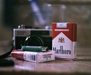 cigarette, marlboro, and camera image