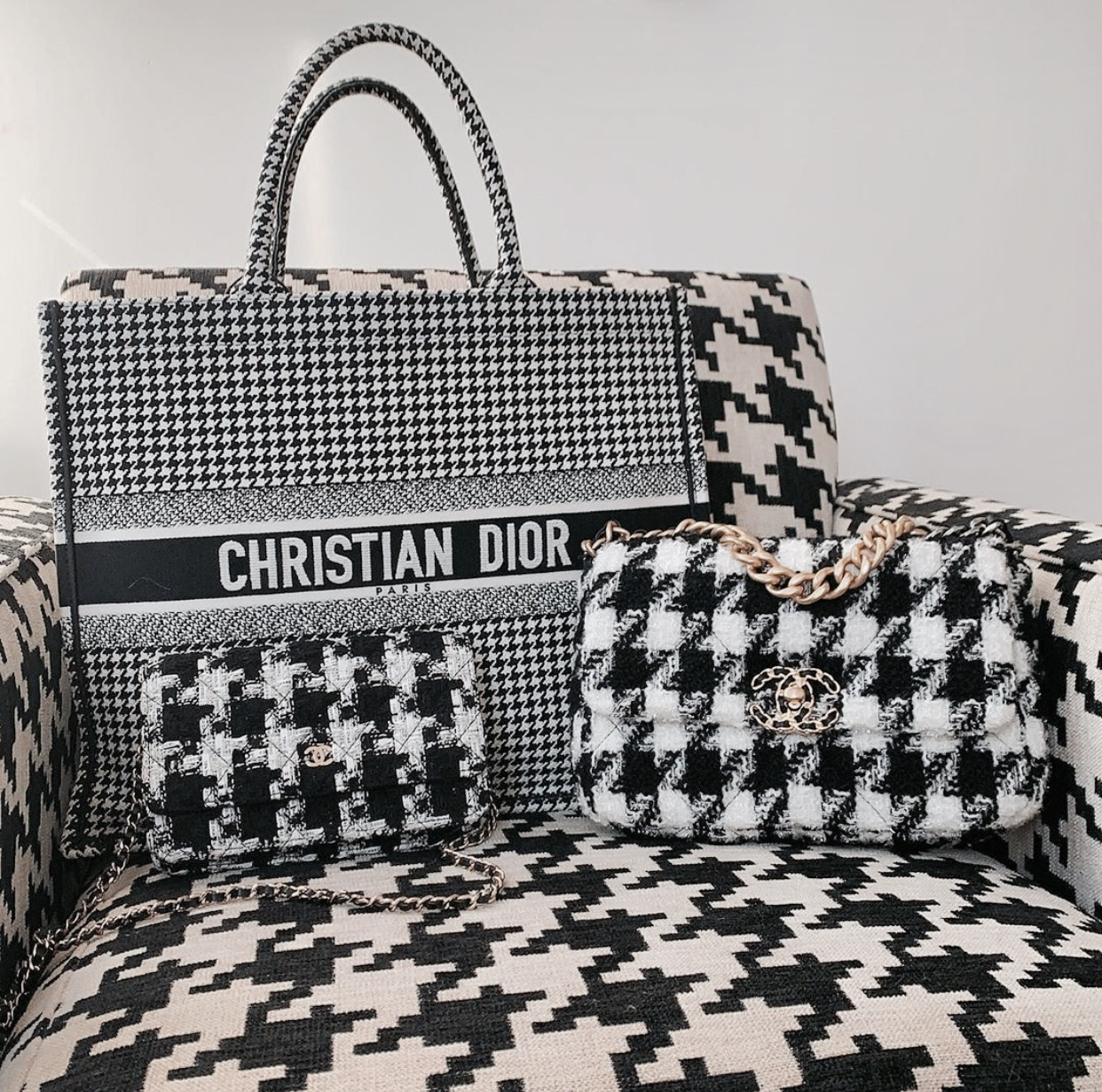 bag, chanel, and dior image