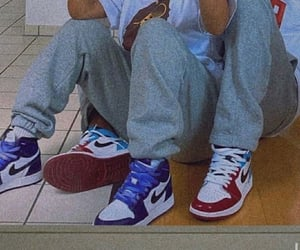 couple, nike, and Relationship image