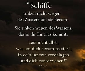 schiff, text, and wasser image