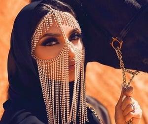arabic, beautiful, and hijab image
