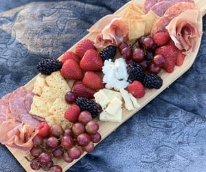 charcuterie, cheese, and chips image