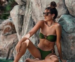 blogger, fashion, and piscine image