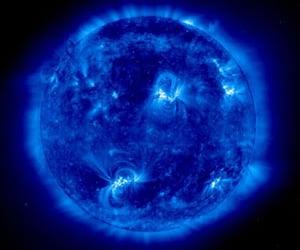 ultraviolet light image