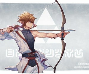 link, videogame, and hero image
