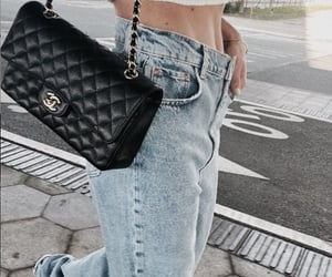 girl, fashion, and chanel image