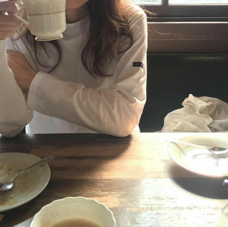 aesthetic, korean, and milk tea image