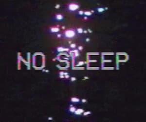 gif, glitch, and no sleep image