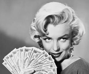 Marilyn Monroe and money image