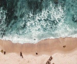 beach, blue water, and beachday image
