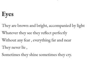 eyes and poem image