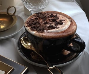 brunch, cocoa, and hot cocoa image