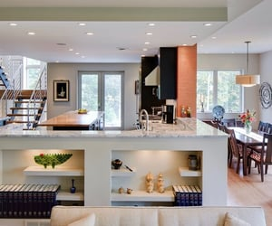 apartment, design, and dining room image