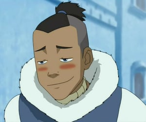 avatar the last airbender, water tribe, and sokka image