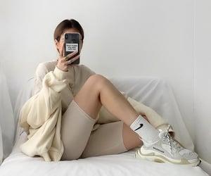 mirror selfie, fashionista fashionable, and fashion style mode image
