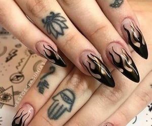 nails and fire image
