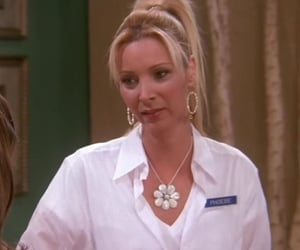 phoebe buffay at the one with the fertility test