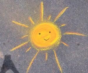 sun, yellow, and aesthetic image