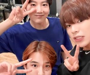 asahi, jeongwoo, and doyoung image