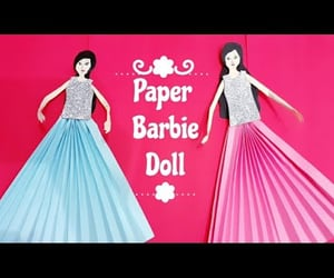 paper craft, paper dolls, and how to make paper doll image