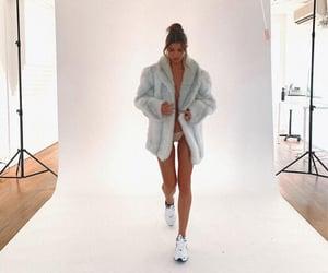 fur, legs, and sneakers image