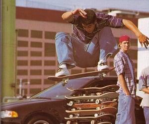 aesthetic, skateboard, and skater image