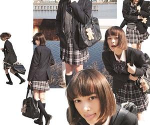 aesthetic, school girl, and alternative image