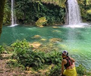 chiapas, paradise, and cascade image