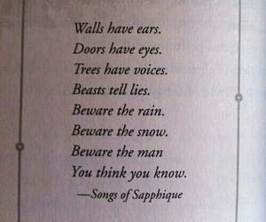 beware, poems, and quotes image