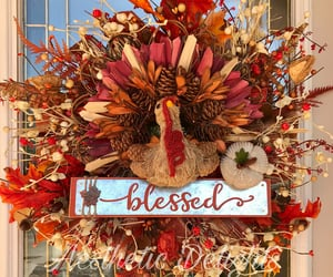 etsy, autumn wreath, and autumnwreath image
