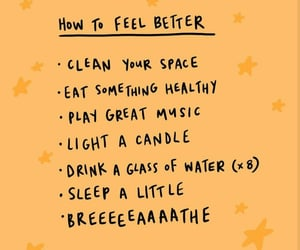 motivating, words, and self care image
