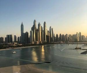 beach, cool, and Dubai image