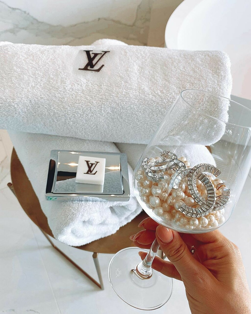 chanel, Louis Vuitton, and luxury image