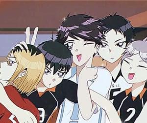 90s, anime, and haikyuu image