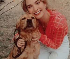 actress, dog, and icon image
