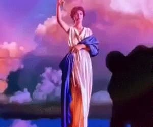 KEEP YOUR HANDS TO YOUR SELF    ( Columbia Pictures torch lady )