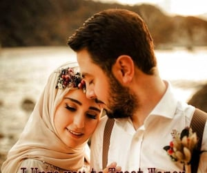 allah, hijab, and love quotes image