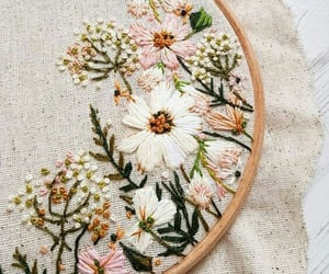 floral and pearl image