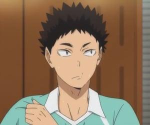 anime, haikyuu, and iwaizumi image