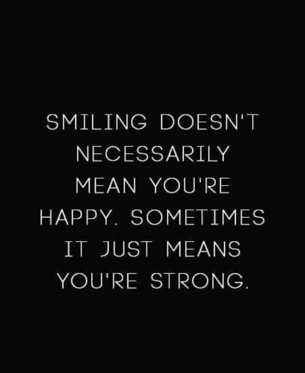 deep, happy, and strong image