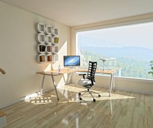 home office and arbeitsplatz image