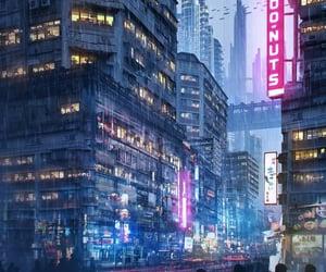 neon, cyberpunk, and future image