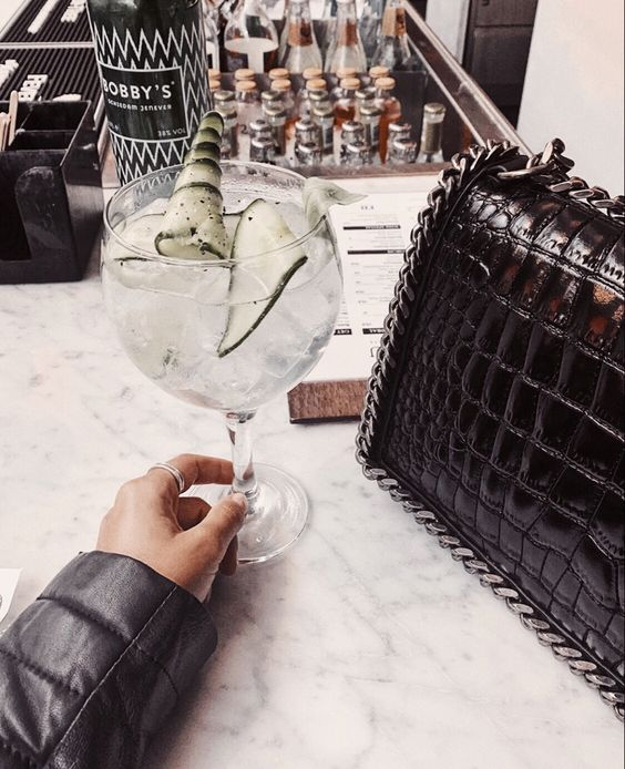 accessories, bag, and champagne image